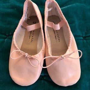 Capezio Children's Leather Daisy Ballet Shoe